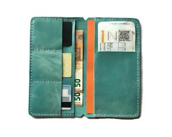 Leather Insert for Traveler Notebook,  Leather Wallet Insert, Traveler's Notebook Wallet Insert, Leather Insert for  Regular Size Midori