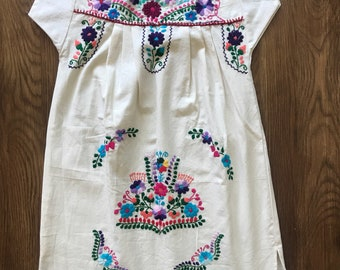 Handmade Mexican Girl's dress sz 6-8