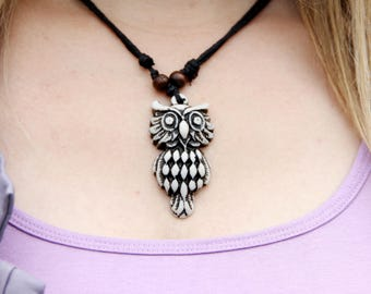 gift for sister gift womens accessory Fashion accessory owl jewelry Vintage owl necklace womens necklace for women jewelry