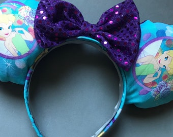 Tinkerbell Disney Inspired Minnie Ears