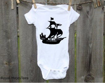Pirate Ship Onesies®, Pirate Baby Shower, Pirate shirt, Pirate birthday