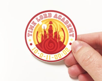 Sticker - Time Lord Academy - Doctor Who Inspired