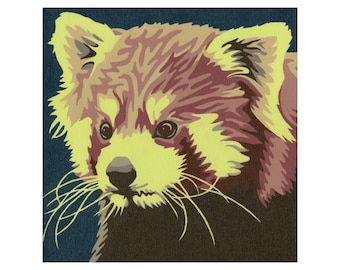 """Limited Edition Print - """"Red Panda"""""""