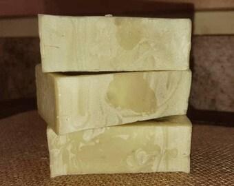 Homemade Hemp Oil and Tea Tree Gentle Facial Cleansing Bar ~ great for sensitive skin