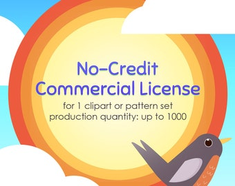 Extended Commercial Use License - No Credit