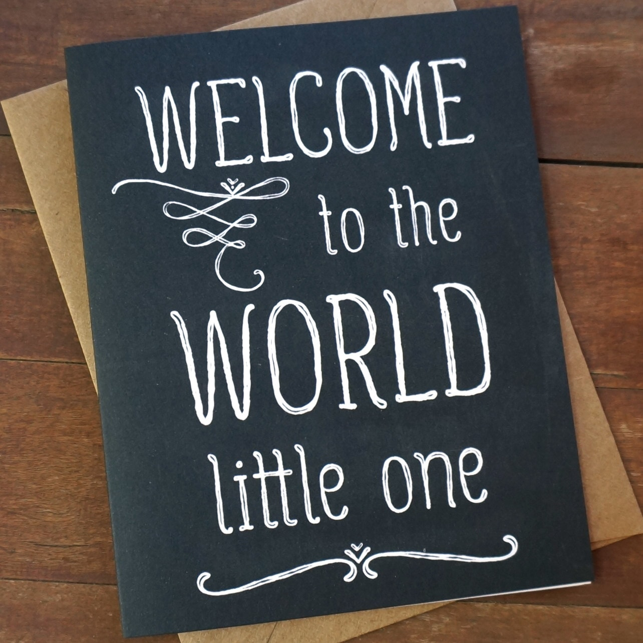 Quotes For Welcome Baby: Welcome Baby Card Welcome To The World Baby Shower Card
