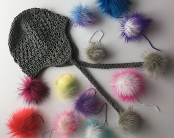 Tiny Tufts Luxury Faux Fur Pom Poms