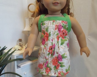 "Spring Flowers Dress & Sweater Outfit--Fits 18"" Dolls LIKE American Girl"