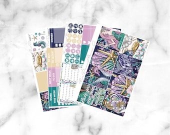 Under the Sea // Mini Weekly Planner Kit (100+ Planner Stickers)