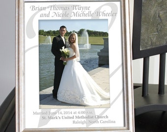 Custom Photo Mat Personalized for Newly Weds