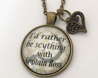 Poldark pendant 'I'd rather be scything with Captain Ross'