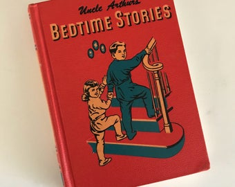 1950 Uncle Arthur's Bedtime Stories - by Arthur S. Maxwell - Volume Three - Review and Herald