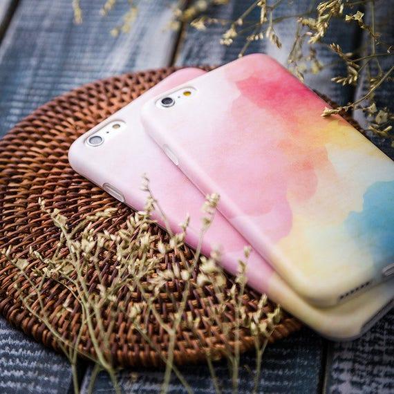 coque iphone 8 aquarelle