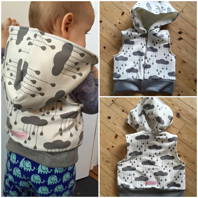 Boy girl dragon baby vest sewing pattern pdf hooded knit zoom jeuxipadfo Choice Image