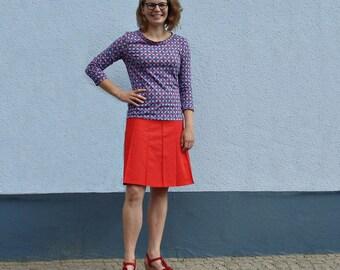 Dress Jersey dress women's dress red blue Brown women in the diamond pattern dress jersey red rhomb pattern blue brown