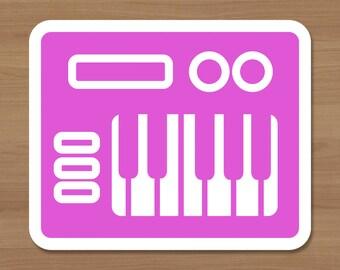 Midi Controller Sticker