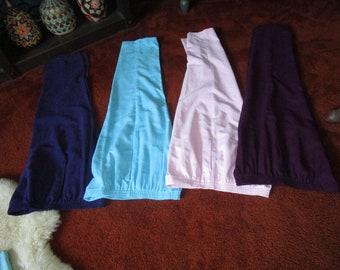 Four Pair of Velveteen/Suede-like Fabric Draper's & Damon's Women's Slacks/Pants Size Petite Medium