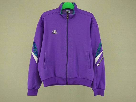 Champion Windbreaker Men Size L Vintage Champion Jacket 90s Champion Vintage Casual Parka NCkt330