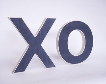 X.O wood Letter
