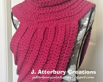 Hybrid Cowl (Inspired by Hunger Games)...Very Stylish!