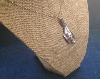 Black abalone pendant from California Beach Fragment