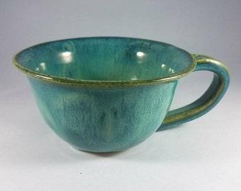 Aqua Tea Cup