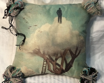 Cloud Tree- Pillow Cover