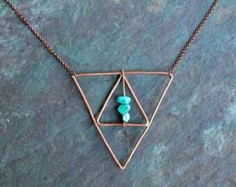 Copper Kallaite Triangle