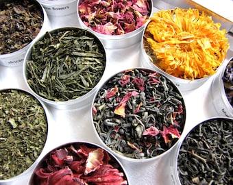 Kräuter- und grüner Tee Geschenk Set-ein schönes Geschenk für eine Tee-Liebhaber.