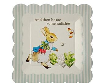 Beatrix Potter Peter Rabbit Paper Party Plates | Meri Meri | Peter Rabbit Plates | Beatrix Potter Party | Peter Rabbit Baby Shower