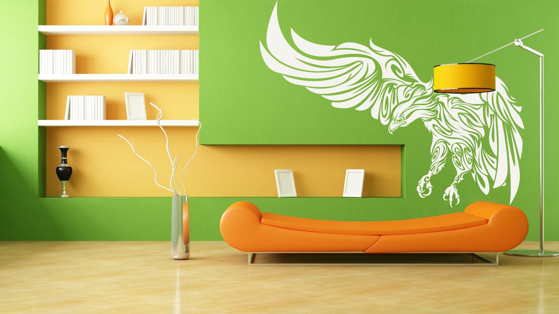 Modern Style Mystic Eagle - Wall decals for magical minds, Many ...