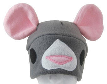 Rat or Mouse Fleece Hat