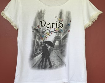 Paris is for the love of T's