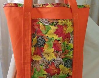 Autumn Leaves Shopping Bag