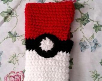 Pokeball Fingerless Gloves