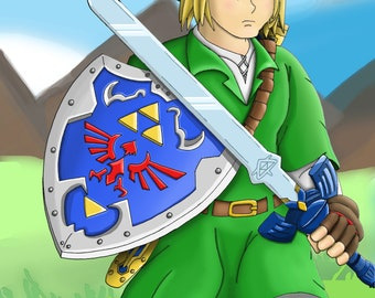 The Hero Of Time (Legend Of Zelda Ocarina Of Time)