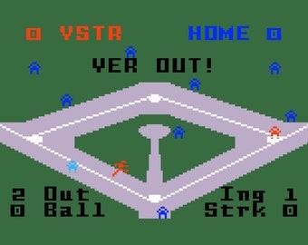 Intellivision Major League Baseball Game