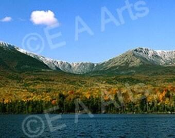 Mt Katahdin Sandy Stream -Baxter State Park Maine Color Art Print Maine Photographer Paul Vose MADE IN USA