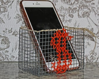 Small wallet/phone basket, customization, made to order