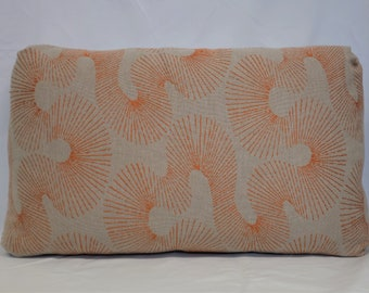 Flax Linen - Embroidered Pillow Cover