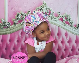 Doc McStuffins Adjustable Satin Bonnet-Infants, Toddlers & Big Kids