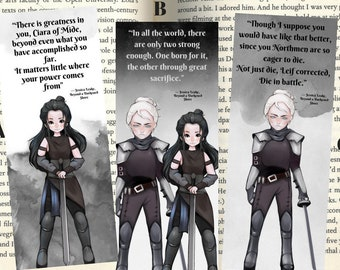 Beyond A Darkened Shore Inspired Bookmarks