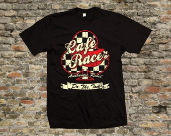 Cafe Racer Club T Shirt 100% cotton - 2085