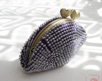 Baba handmade beads crochet coinpurse No.668