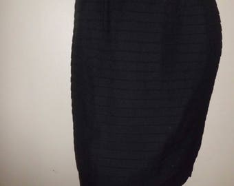 Black t36 GEORGES RECH pencil skirt