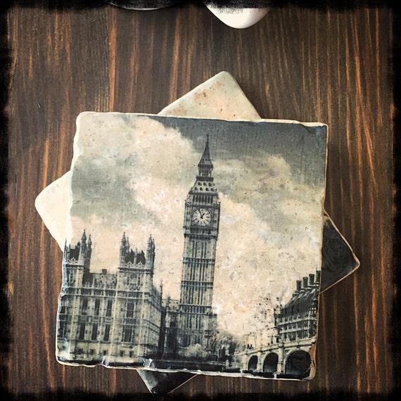 London Themed Stone Coast...