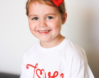Love shirt, Kids love shirt, i love you shirt, kids valentines shirt, valentines day shirt, kids valentines gift, kids heart shirt, kids tee