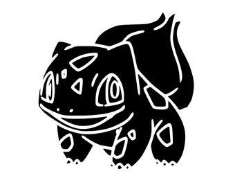 Bulbasaur Pokemon SVG File!
