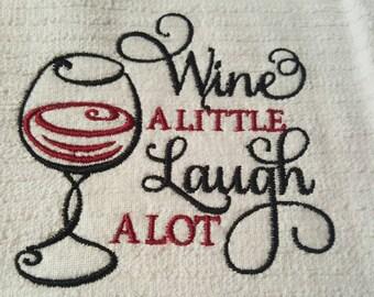 Wine Kitchen Towel