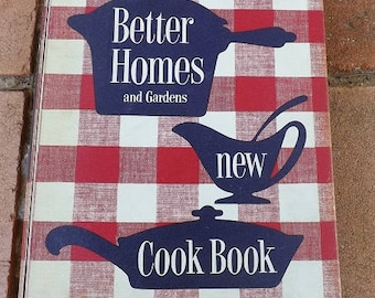 Better Homes and Garden New Cook Book( Spiral) (1953) First Edition First Printing  Hardcover